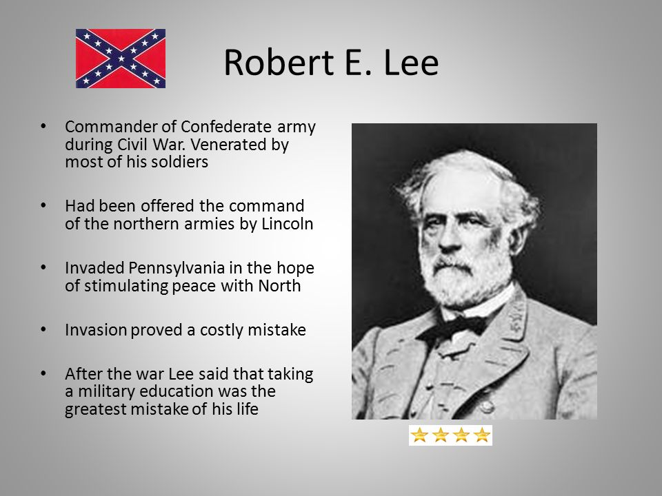 a biography of robert edward lee a soldier Robert e lee at chancellorsville scott would write about lee's remarkable performance in that war, calling him the very best soldier i ever saw in the field.