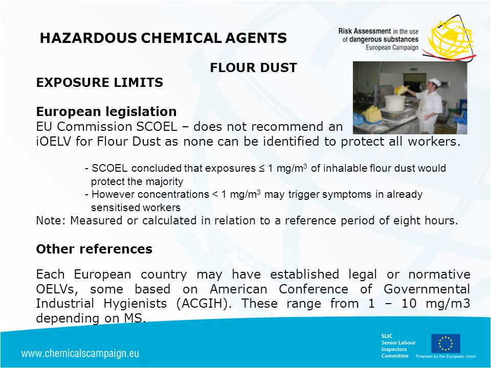 HAZARDOUS CHEMICAL AGENTS