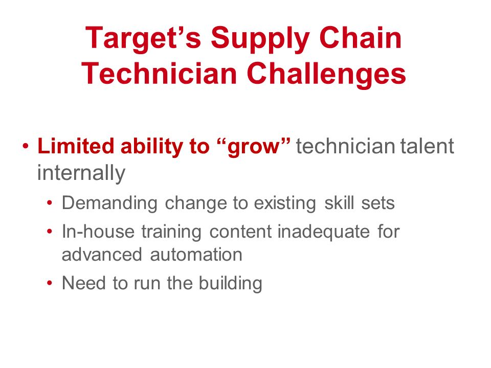targets supply chain Target's online ordering and in-store pickup options have reportedly magnified the retailer's supply chain problems.