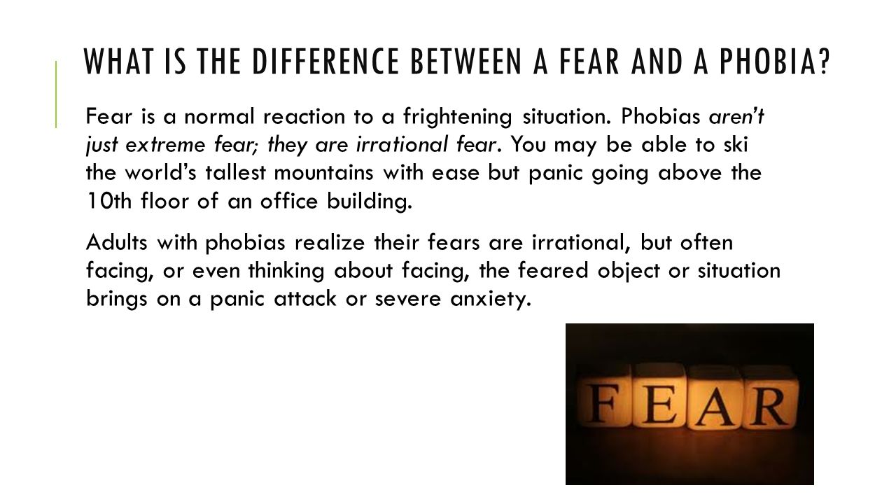 fear and phobias Please don't ask me about curing phobias because i know little about them social (fear of being evaluated negatively in social situations)- social phobia.