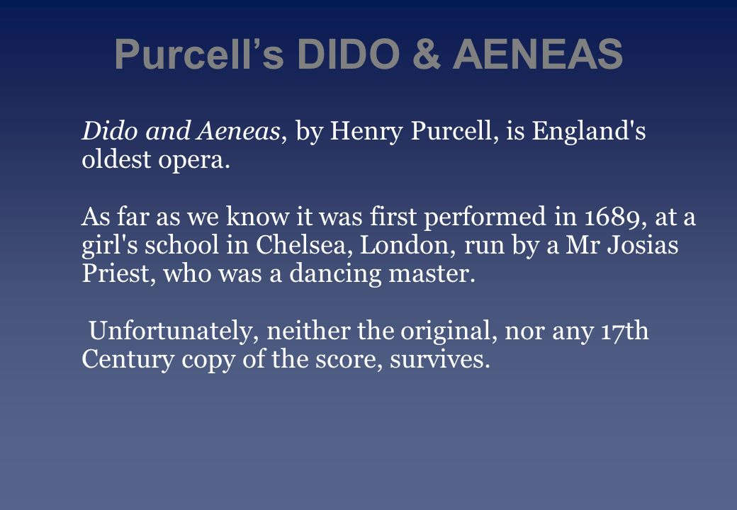 aeneas and dido essay Get custom essay sample written according to your requirements  aeneas and  dido both suffer in their love story as they live together happily as lovers, but he.