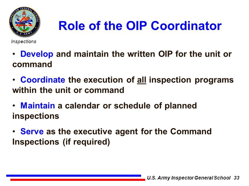 U.S. Army Inspector General School 1 - ppt download