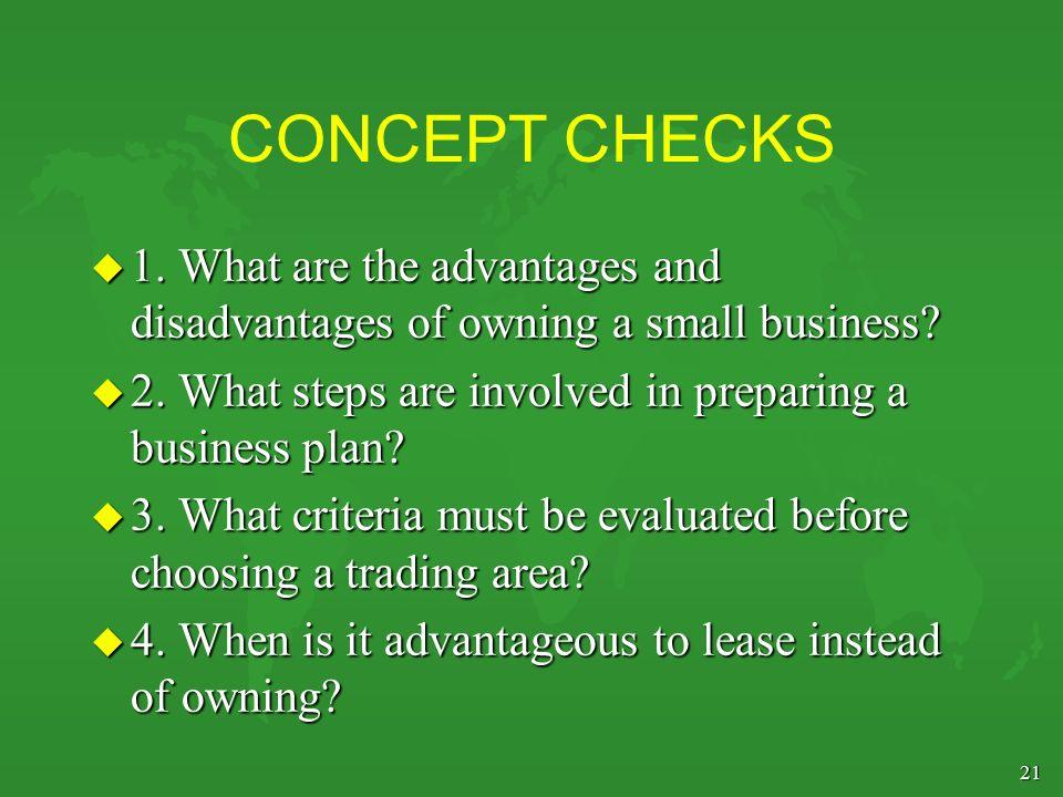 Advantages of a business plan