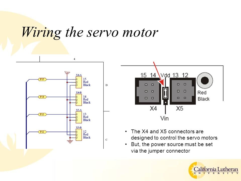 Controlling the outside world ppt video online download for How to control servo motor