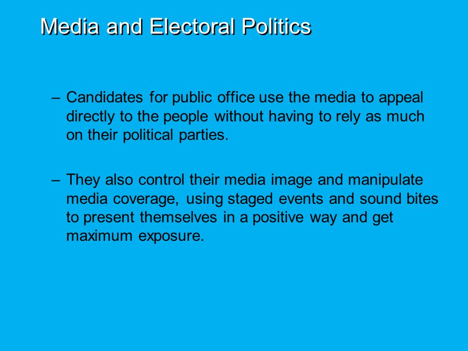 mass media electoral votes and political Electoral politics in zimbabwe: authoritarianism versus  of the votes at counting political violence also plays a major  adequate access to the mass media.