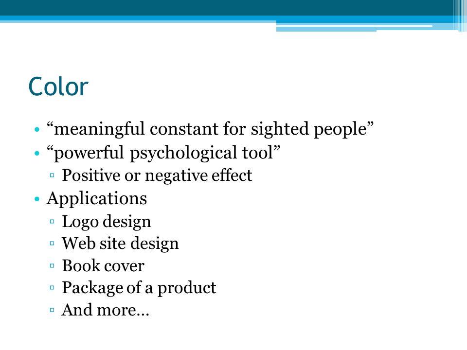 Color Psychology ppt video online download