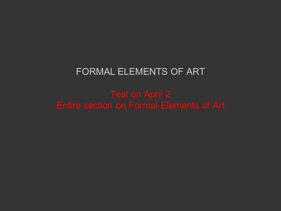 Formal Elements Of Art : Atmospheric or aerial perspective ppt video online download
