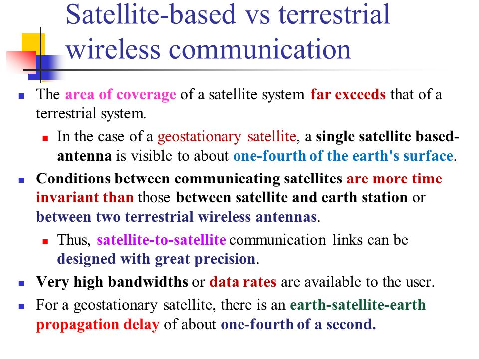 Satellite Communications Ppt Download