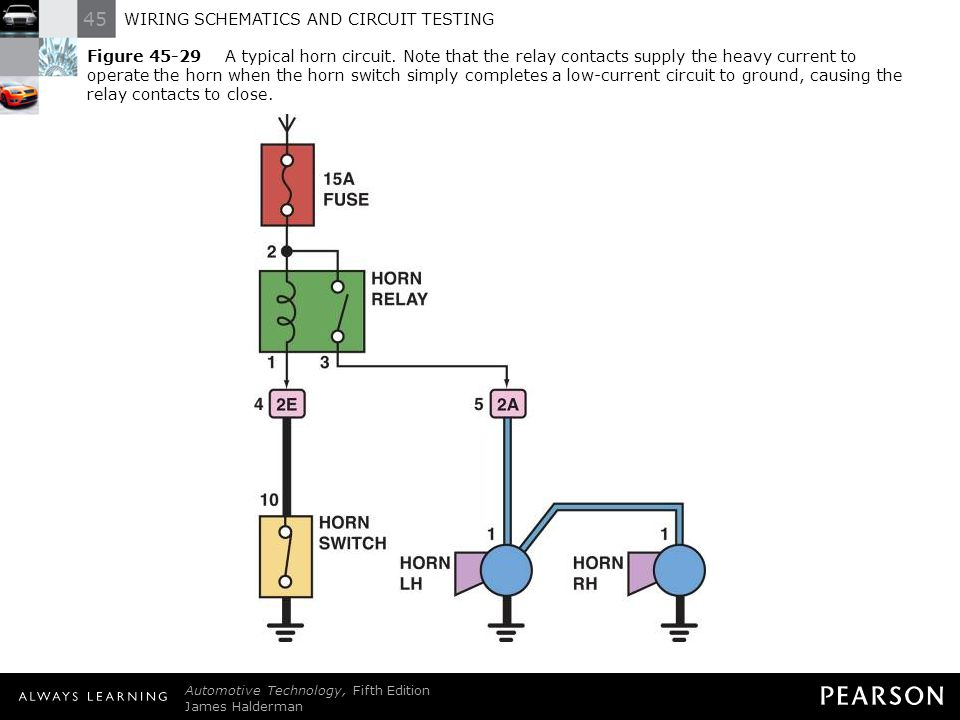 Typical horn relay wiring wiring schematics and circuit testing ppt download swarovskicordoba Choice Image