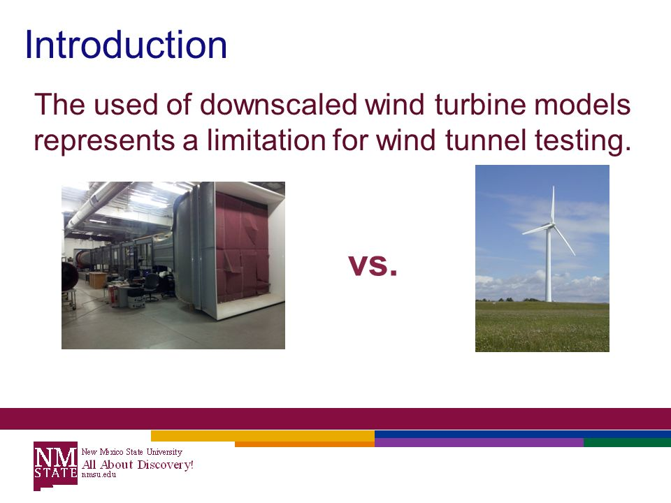 Introduction to wind tunnel
