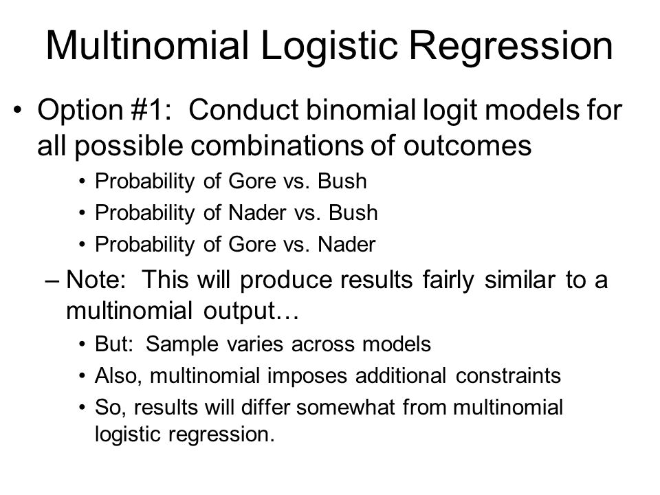 how to choose control variables in logistic regression