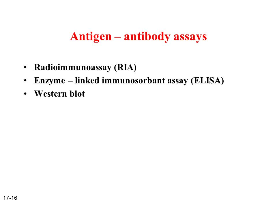 radioimmunoassay ria and enzyme linked immunosorbent assay elisa essay 18052018 radioimmunoassay and biomarkers core  the ria/biomarkers core is housed within in a new state of the  enzyme-linked immunosorbent assay (elisa.