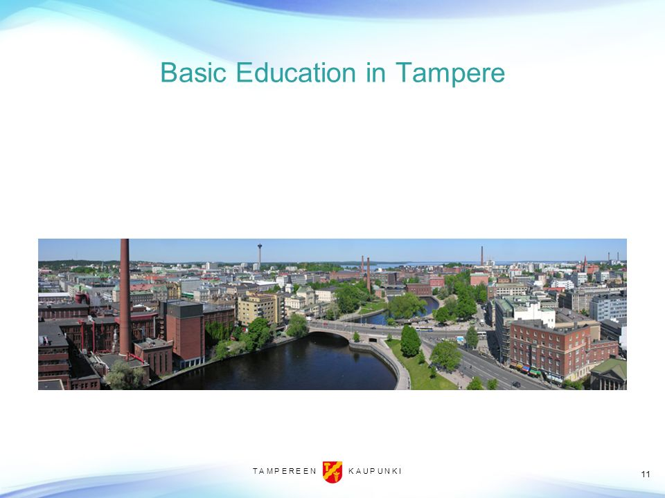 Basic Education in Tampere