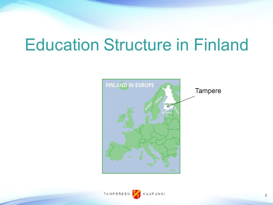 Education Structure in Finland