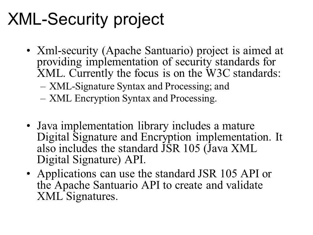 XML-Security project