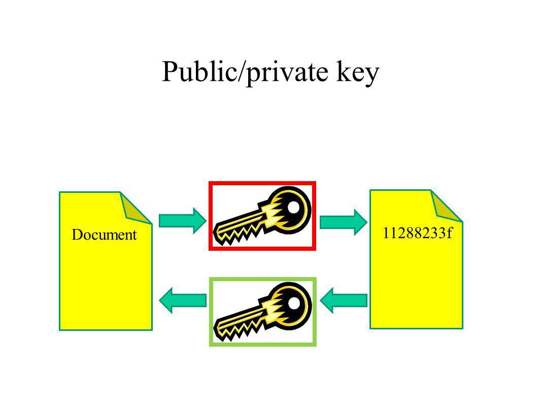 Public/private key Document 11288233f