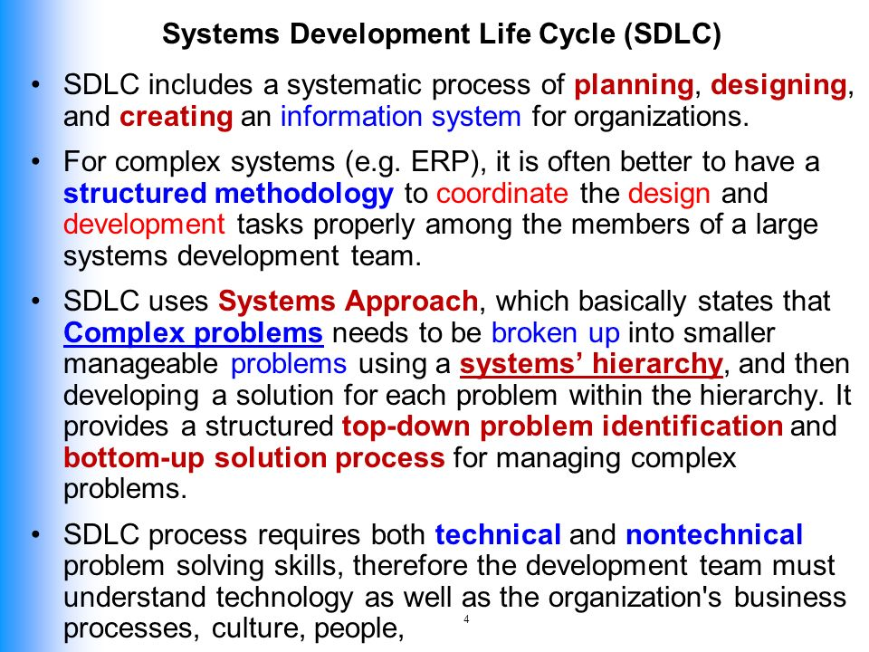 Development life cycle ppt video online download 4 systems development malvernweather Image collections