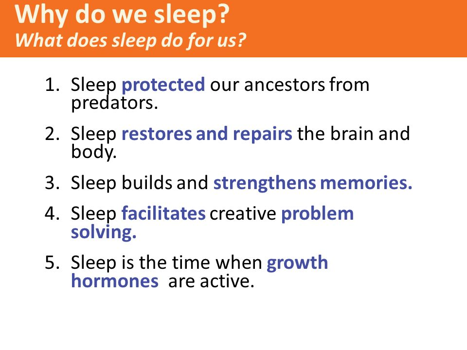 the importance of sleep to the body and mind The five stages of sleep  the importance of sleep  rapid signals known as sleep spindles to help the body and mind disengage from the surroundings.