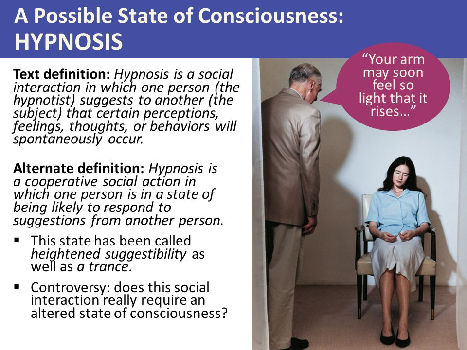 altered states of consciousness and hypnosis