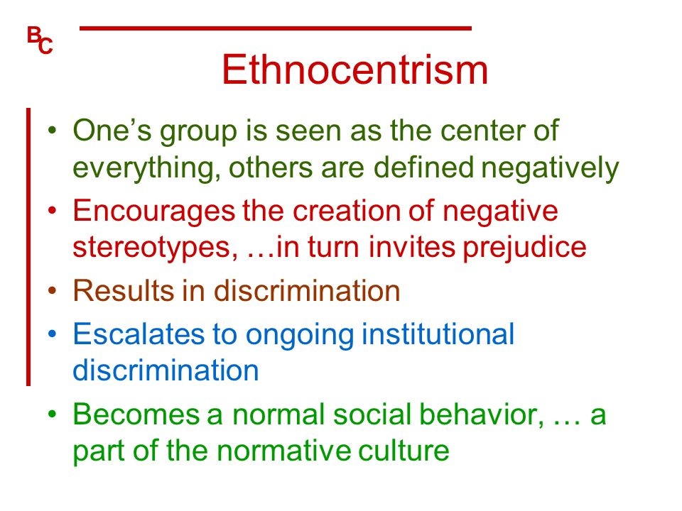 ethnocentrism and immigrants in the united states Part of this anxiety is rooted in ethnocentrism and group animus citizens  8  alejandro portes and ruben rumbaut, immigrant america (berkeley: university  of.