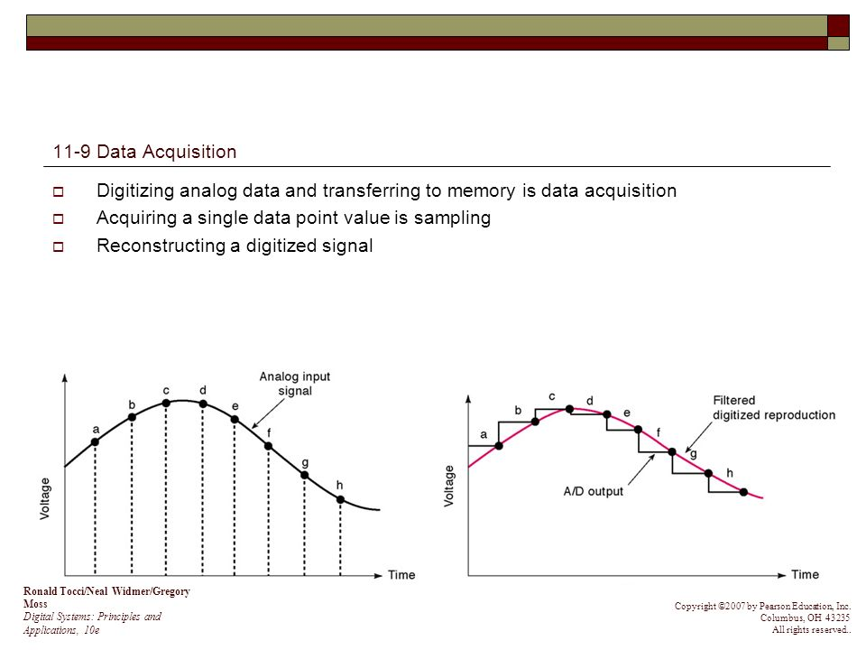 Principles Of Data Acquisition : Interface with analog world ppt video online download