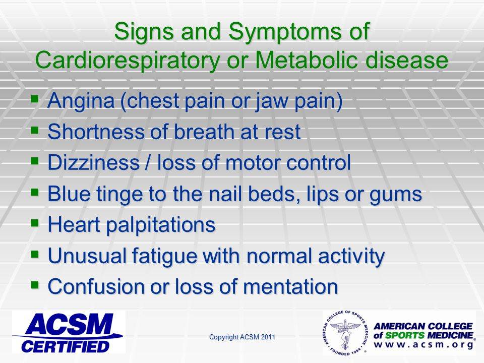 Welcome to the acsm certified group exercise instructor for Loss of motor control
