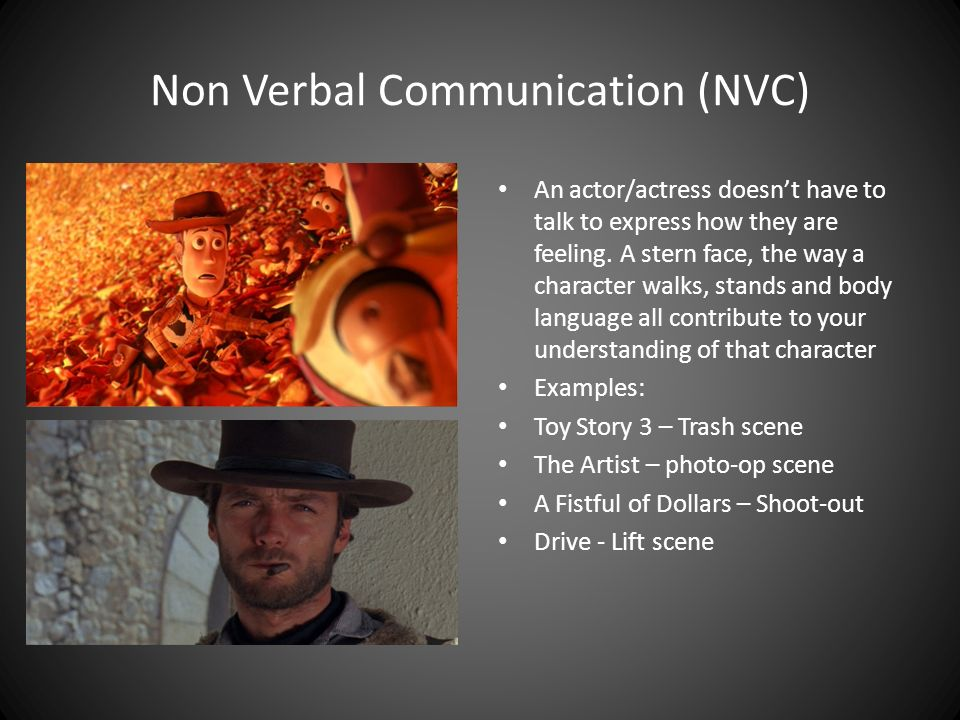 Non Verbal Communication (NVC)