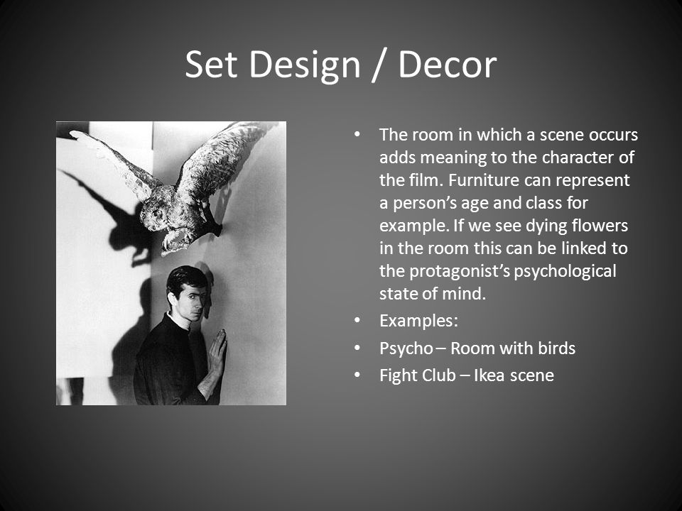 Set Design / Decor
