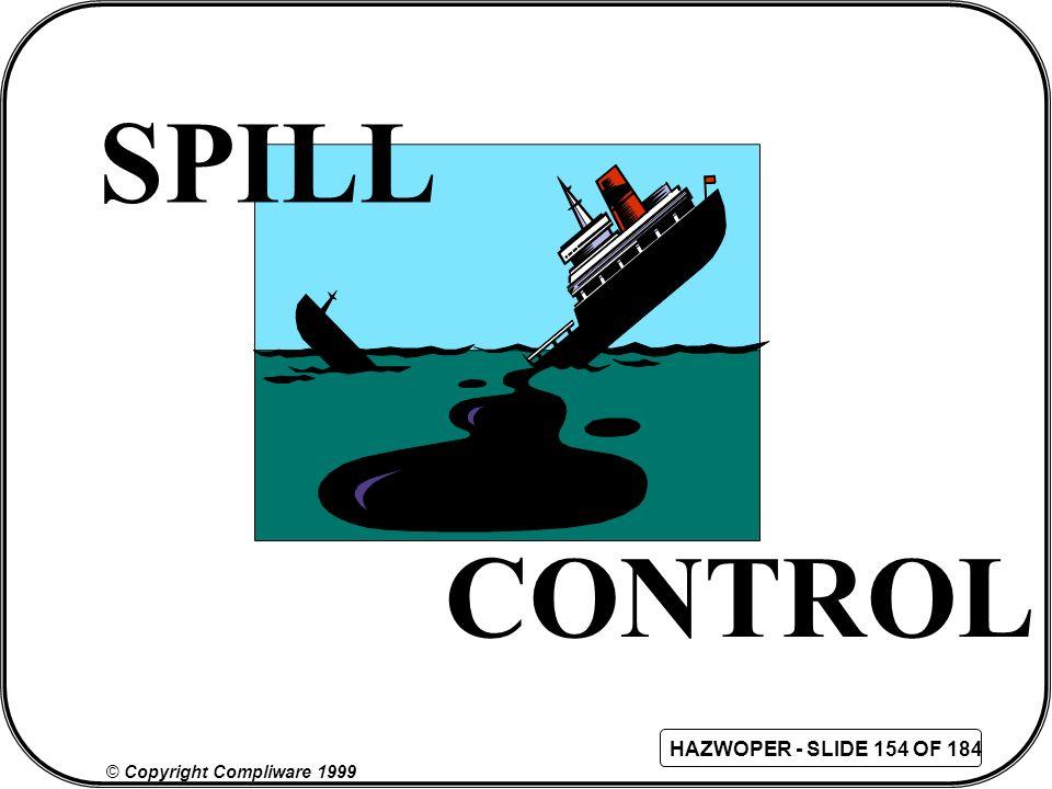 SPILL CONTROL 158 158
