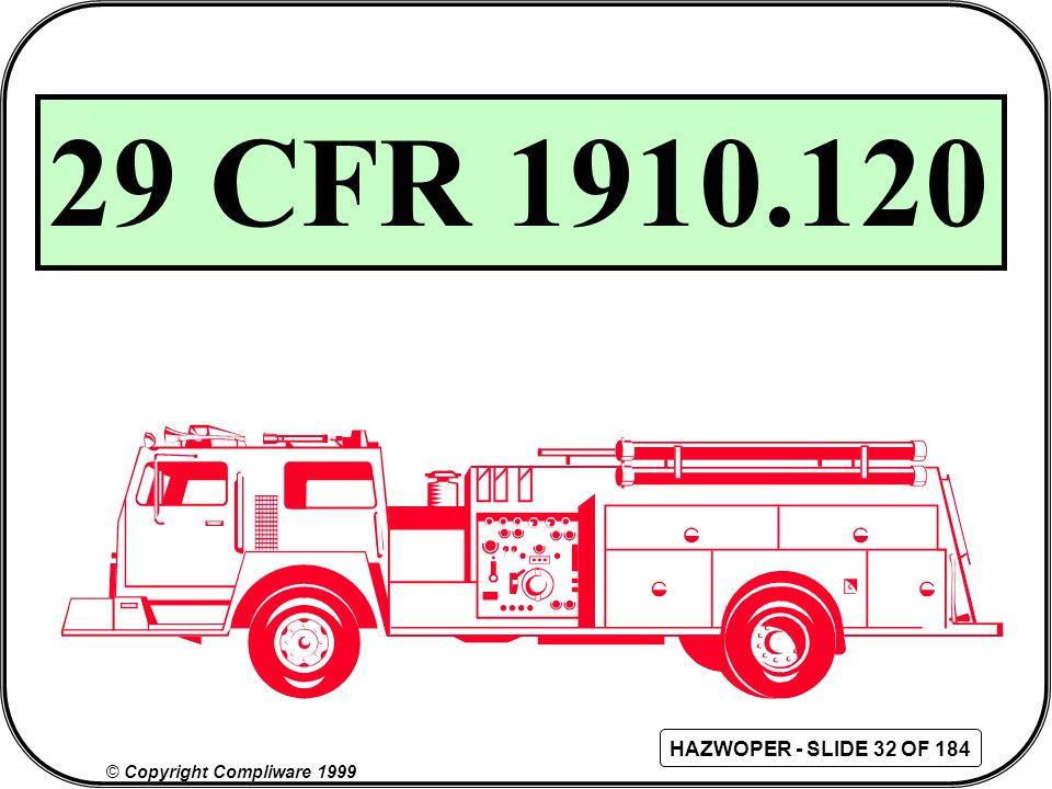 29 CFR 1910.120 36 36