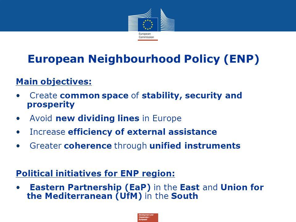 European Neighbourhood Policy (ENP)