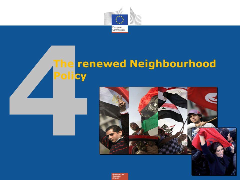 The renewed Neighbourhood Policy