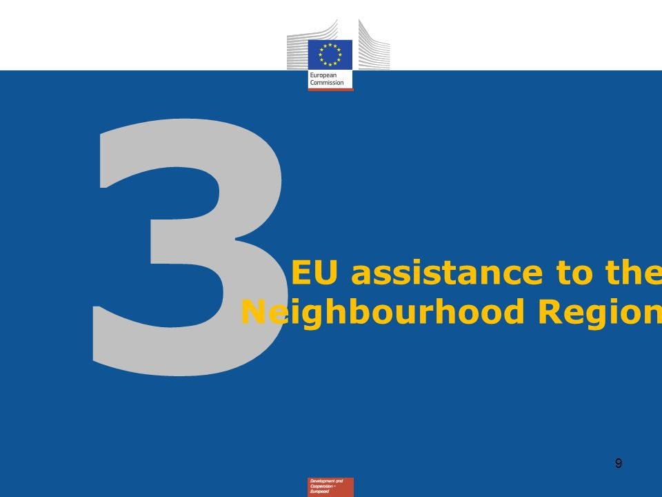 05/03/2009 EU assistance to the Neighbourhood Region