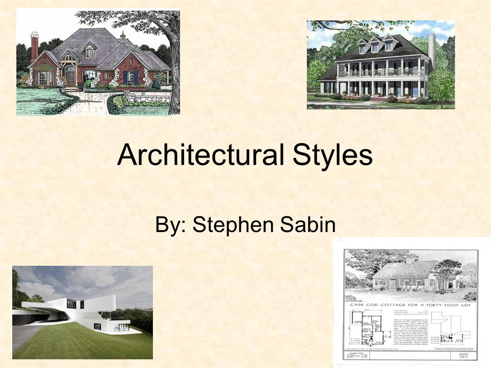Architectural styles by stephen sabin ppt video online for Basic architectural styles