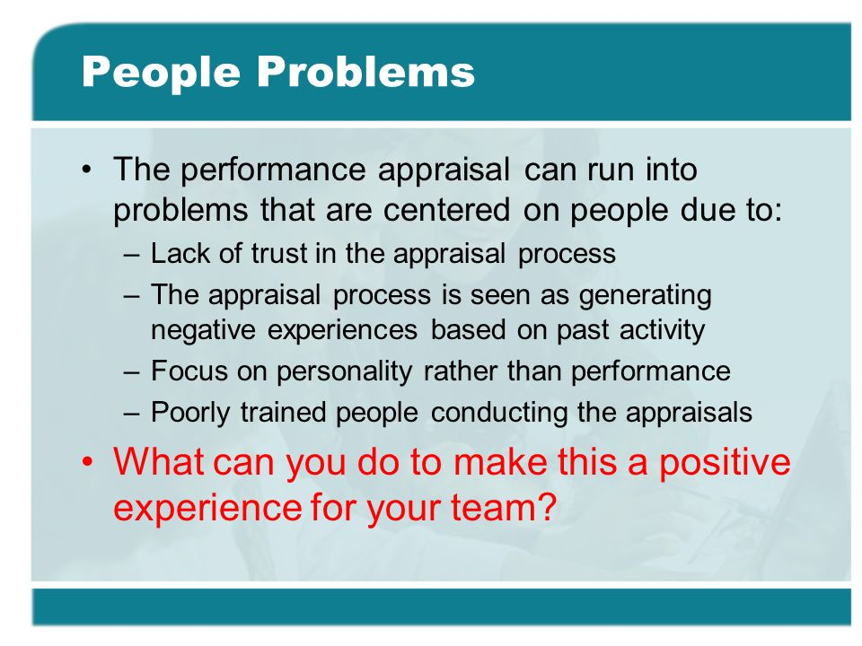 10 common problems with performance appraisals [and how to solve them]