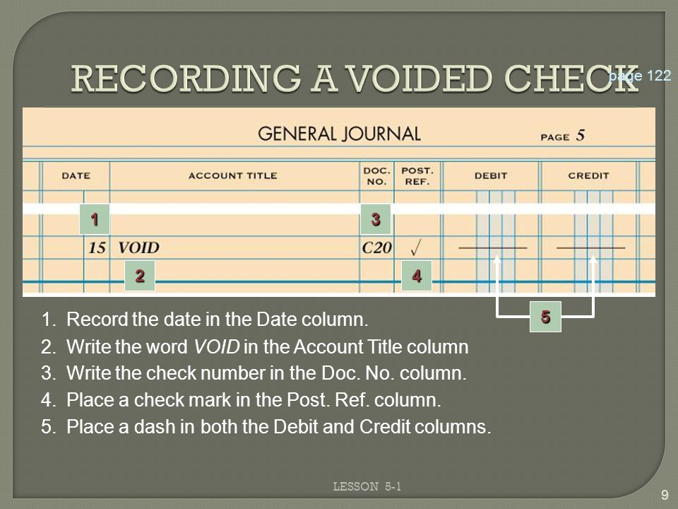 Write a voided check