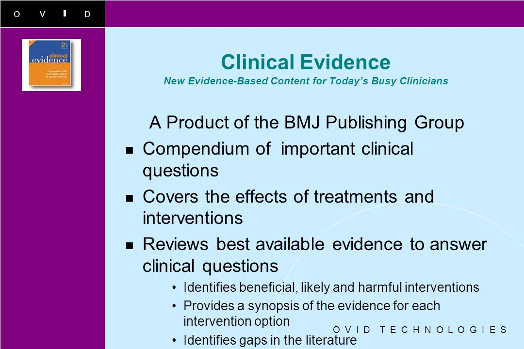 A Product of the BMJ Publishing Group