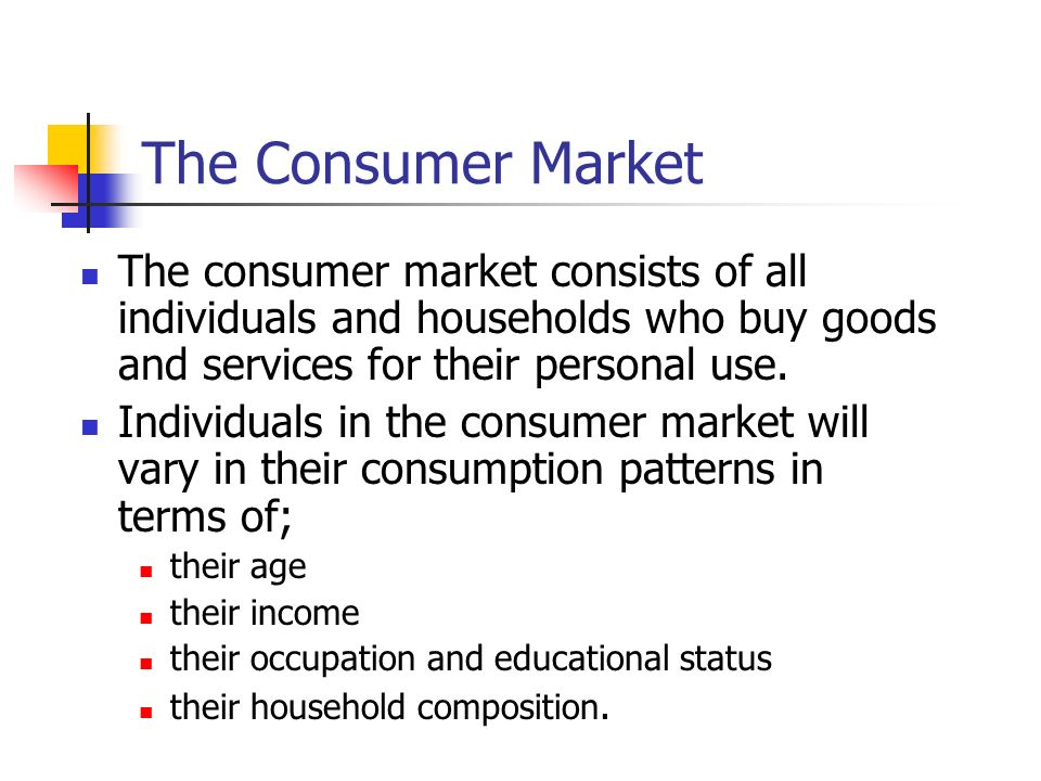 consumption of the consumer Seeing how big consumer culture has become and how it affects not just nations,  but individuals, can help people make better choices about.