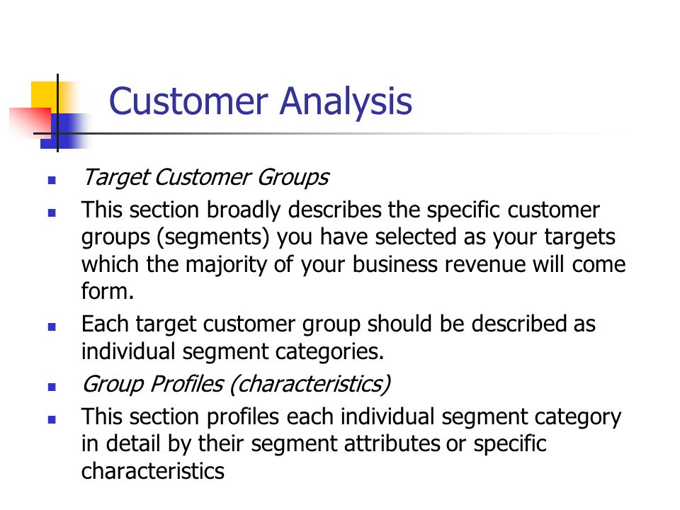 target customer analysis The target market for coffee, includes drip coffee drinkers, coffee shop lovers, specialty coffee drinkers, and whole bean buyers by expanding beyond coffee, and offering items such as specialty .