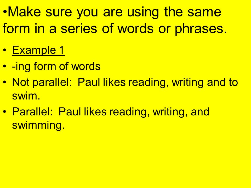 Parallelism. - ppt download