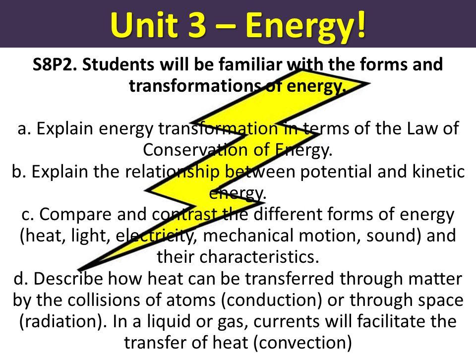 Forms of energy worksheet pdf
