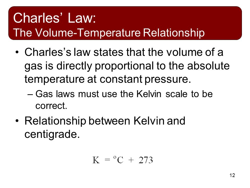 air pressure and temperature relationship law