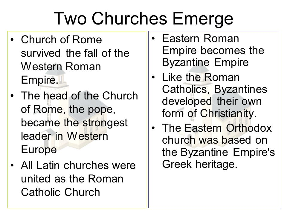 eastern orthodox christianity and its differences to the western church