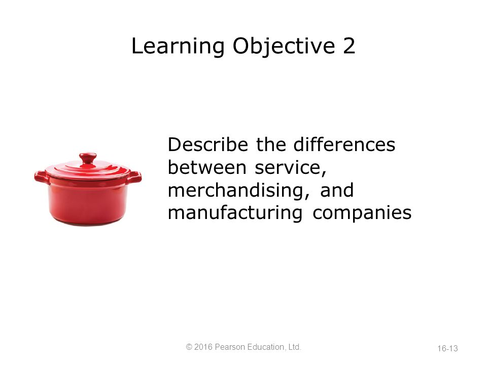 differences between manufacturing and service organisations Service and manufacturing operations have differences, but also similarities for example, both create mission statements and a vision for how the organization will.