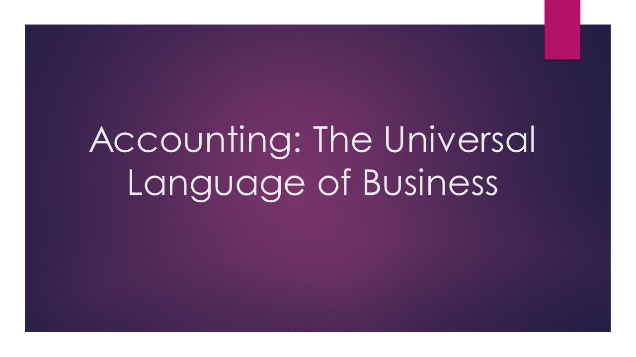 accounting as a language The true language of business is accounting then why are so few executives fluent in the language find out how execs are improving financial literacy.