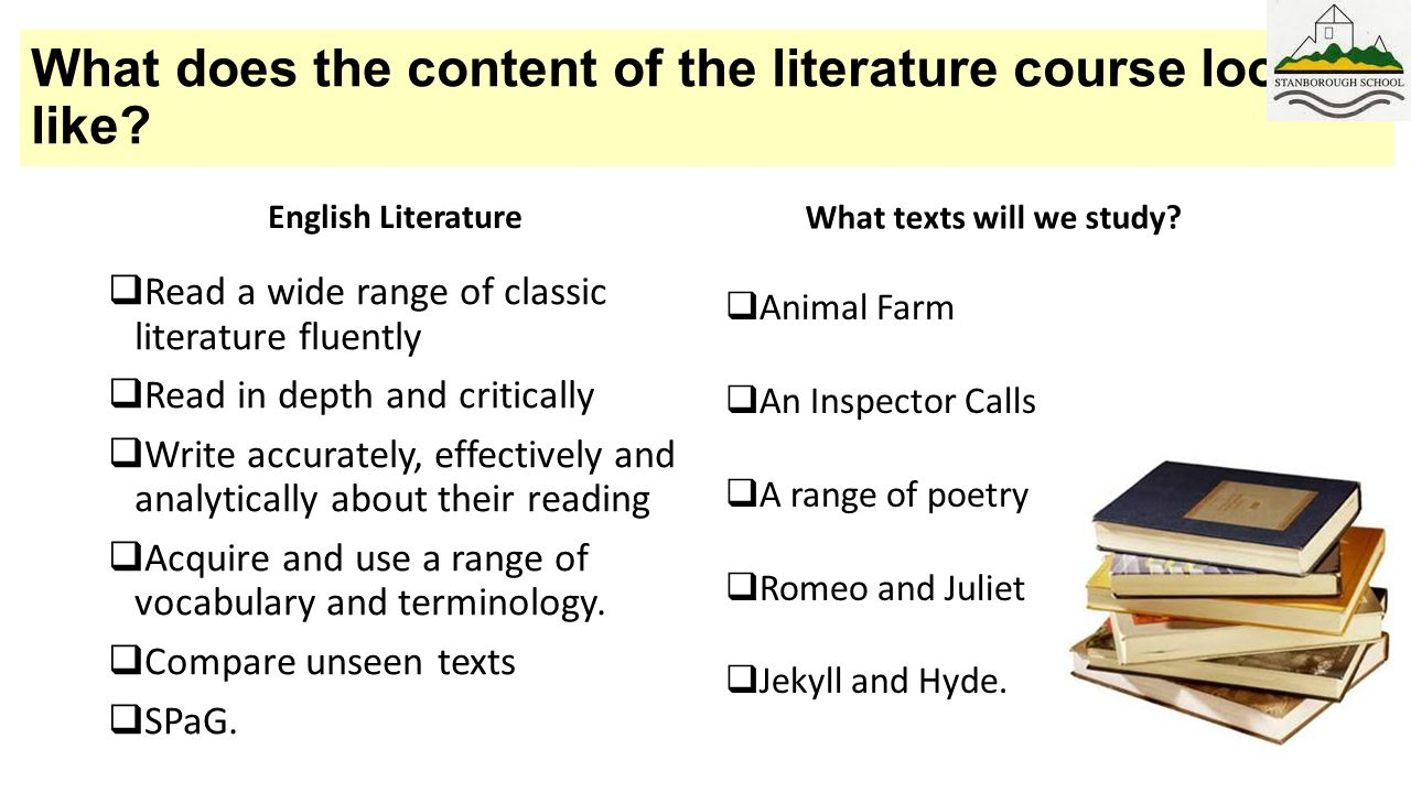 Why Do We Need To Study Literature - eNotes.com