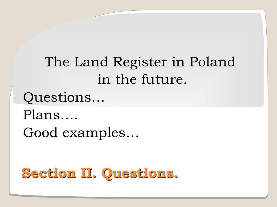 The Land Register in Poland