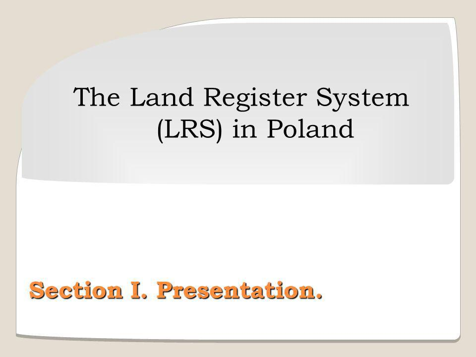 The Land Register System (LRS) in Poland