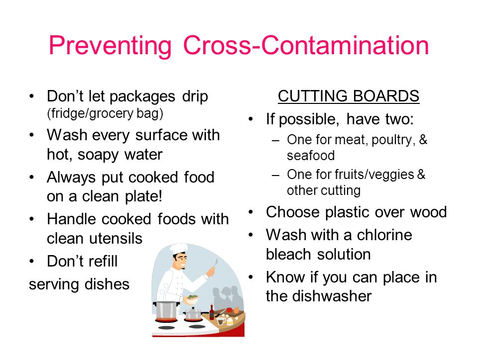 Kitchen sanitation ppt video online download Can you put hot food in the refrigerator