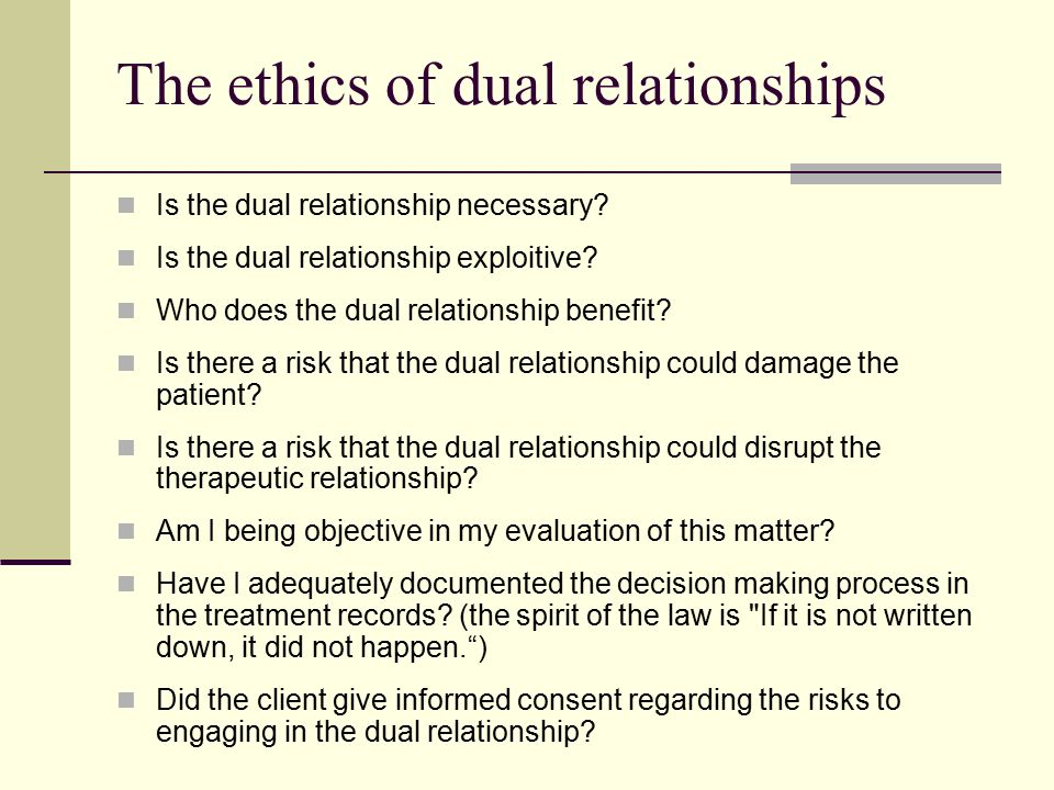 The Interplay of Ethical Rules and Attorney-Client Intimate Relationships